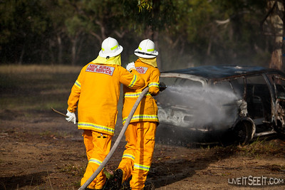 Perthville Brigade competing in the MVA event.