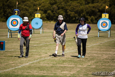 WFG 2012 - Archery Archery competition at the World Firefighters Games