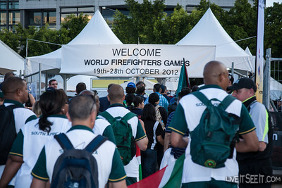 World Firefighters Games Opening Ceremony