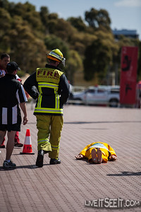 World Firefighters Games 2012, Sydney - Toughest Firefighter Alive  Fire & Rescue NSW entrant
