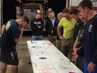 Judging Fire Prevention Posters