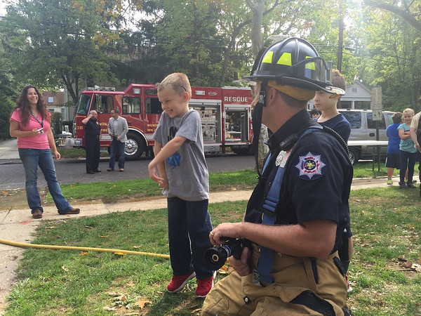 Fire Prevention at the Wenonah School