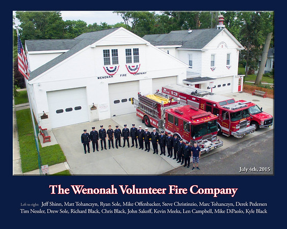 Wenonah Fire Company  - 2015