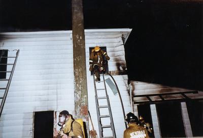 Live Burn Drill 1982