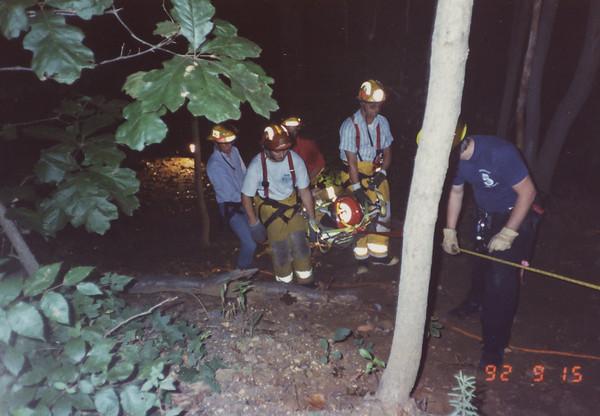 Low Angle Rescue Drill