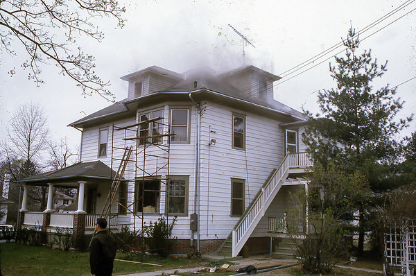 House Fire 101 N. Monroe Ave
