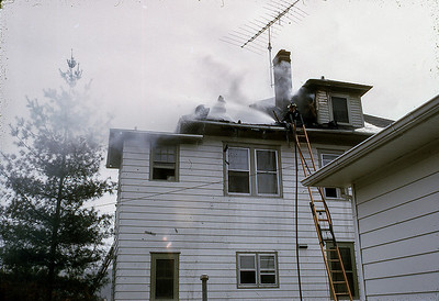 House Fire 101 N. Monroe Ave