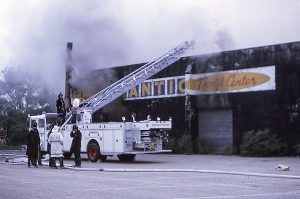 Atlantic Thrift Fire