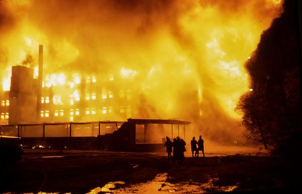 Belber Trunk Fire - Photo by Lou Moffett