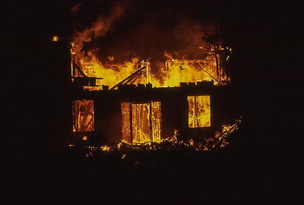 Pill Factory Fire 1971