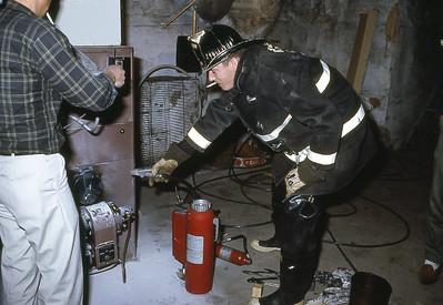 Oil Burner Fire