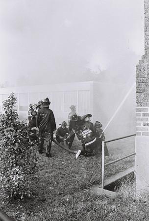 Woodbury Hts School Fire - 1966