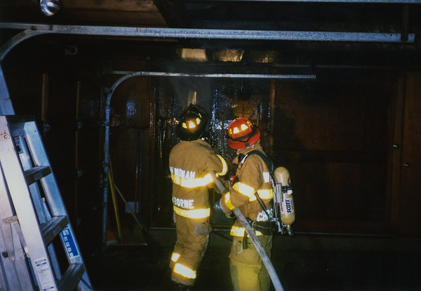 Langstan Houese Garage Fire