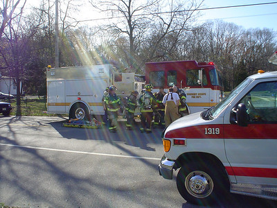 Cattell Road Fire - April 16, 2005