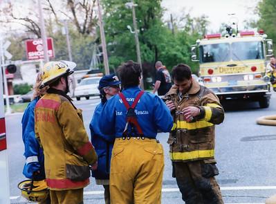Easter Fire - 1 E. Mantua Ave
