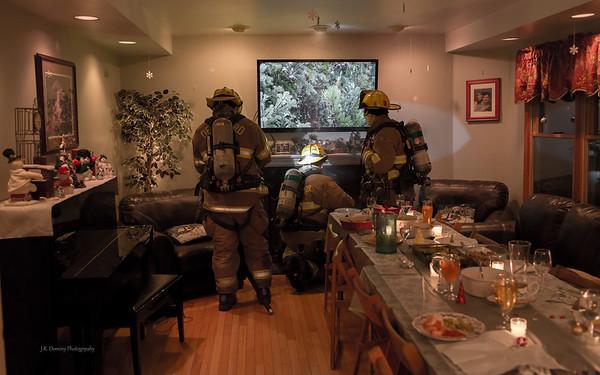 Christmas Dinner Fire - 2012