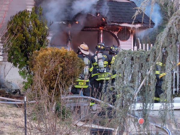 Glenwood Court Fire - Woodbury Hts