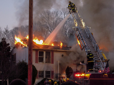 Glenwood Court Fire - Woodbury Hts