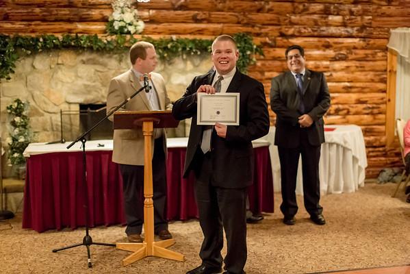 John Sakoff - lots of years of service award