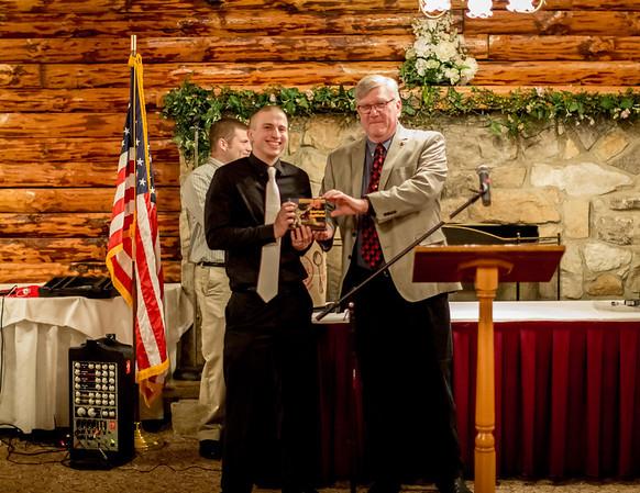 Michael Zelley gets a 'special' award