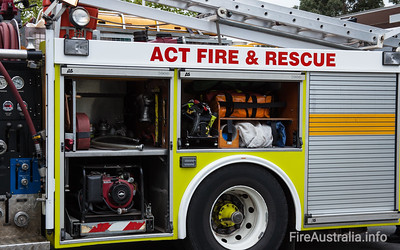 ACT Fire Rescue - Pumper 2 Ainslie Photo March 2013