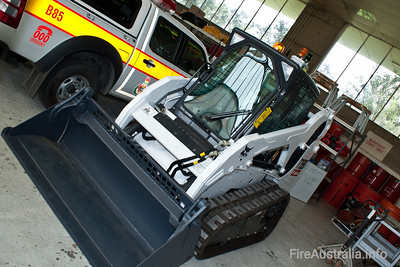 Bobcat from ACT Fire Brigade Special Operations, for use in HAZMAT incidents.