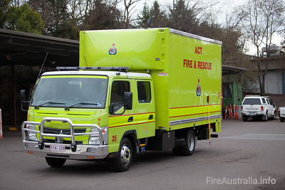 ACTFR #35 Support Truck