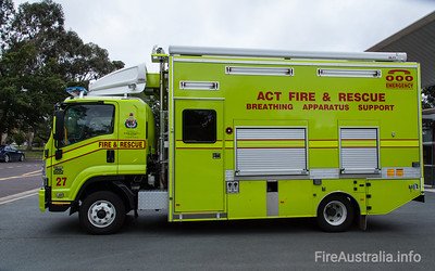 ACT Fire Rescue - Ainslie BA Support