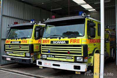 ACTFB Scania Pumpers Bravo 12 & 15