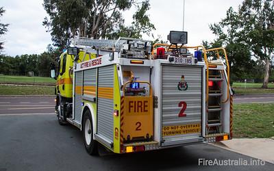 ACT Fire Rescue - Pumper 2 Ainslie