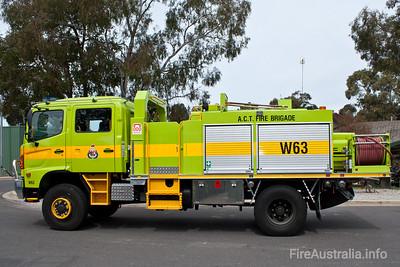 ACTFB W63 Water Tanker