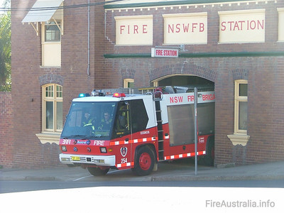 FRNSW 254 Cessnock Fire Station June 2006