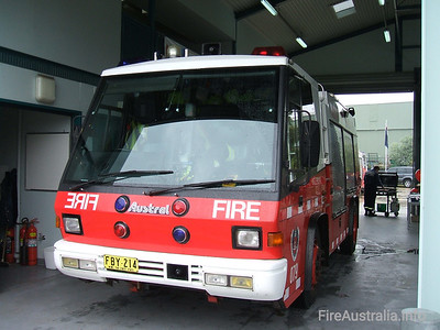P79 Ingleburn Pumper P79 Ingleburn Pumper, an Austral Firepac  Open Day April 2007