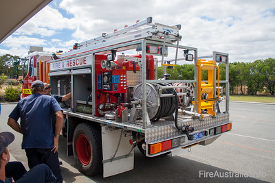 WA FRS UT79 New Model undergoing familiarisation training