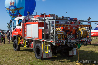 NSW RFS Illawarra Support Cat 1 Tanker