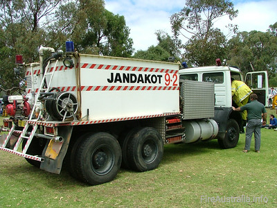 Jandakot BFB 9.2 Tanker