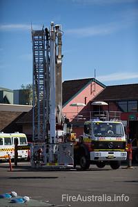 FRNSW SEV Ladder Platform