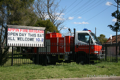 NSW RFS Appin Cat 7 Tanker