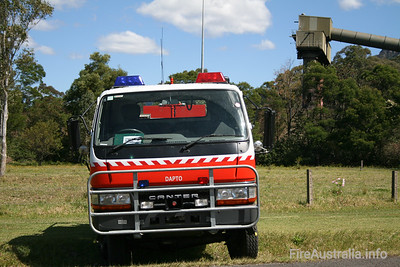 NSWRFS Dapto 7 Tanker.   Photo at Open Day 2007