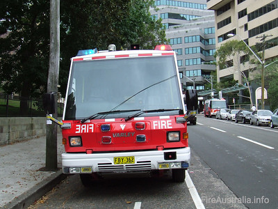 NSWFB P53 Neutral Bay Pumper NSWFB P53 Neutral Bay Pumper, a Varley Commander  January 2007