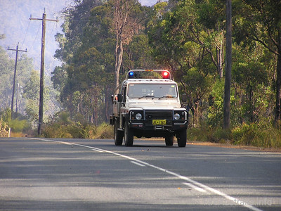 Kalamunda BFB Light Tanker 5 Photo January 2005