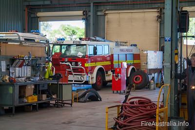 WA FRS MP57 at Workshops