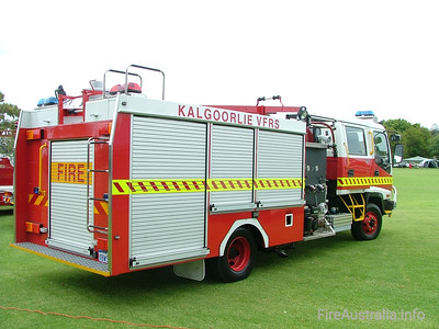 Kalgoorlie FRS Country Pumper Kalgoorlie FRS Country Pumper on display at Easter Championships 2005