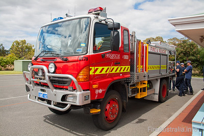 WA FRS UT79 New Model undergoing familiarisation training
