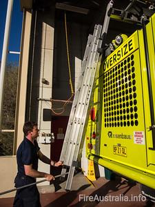 ASA ARFF Sydney Tender 4 - Primary air incident response, Commander's vehicle