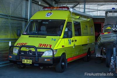 ASA ARFF Sydney Tender 14 Command vehicle