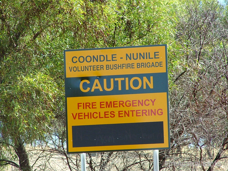 Coondle Nunile BFB Fire Station<br /> Photo February 2006