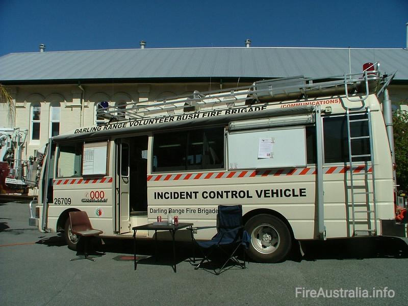 Darling Range Communications BFB (Mundaring) Incident Control Vehicle