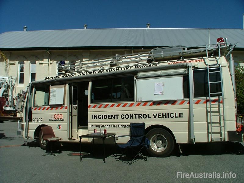 Darling Range Communications BFB (Mundaring) Incident Control Vehicle<br /> Photo November 2011