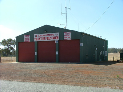 Lower Chittering BFB Fire Station Photo January 2006